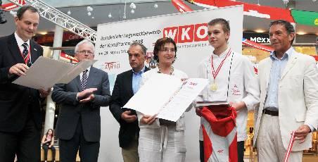 Konditorlehrling Stefan Lubinger 2008