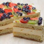 Topfen-Frucht-Torte